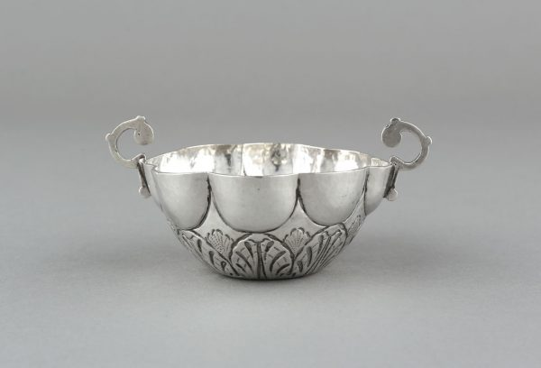"""A SILVER """"LOVER'S CUP"""""""