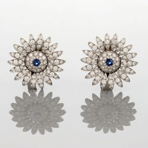 SUNFLOWER-SHAPED EARRINGS
